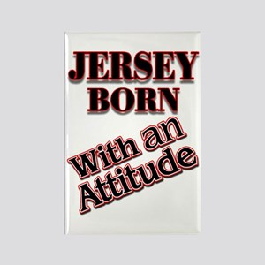 born in Jersey Rectangle Magnet