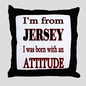 from Jersey Throw Pillow