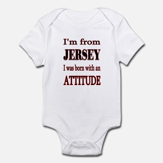 from Jersey Infant Bodysuit