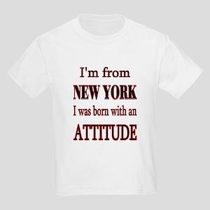 I'm From NY Kids Light T-Shirt