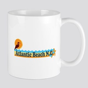 Atlantic Beach NC - Beach Design Mug