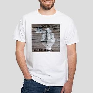 Sh*t Happens - 1 Image on White T-Shirt