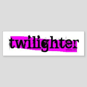 Twilighter Hot Pink by twibaby Sticker (Bumper)