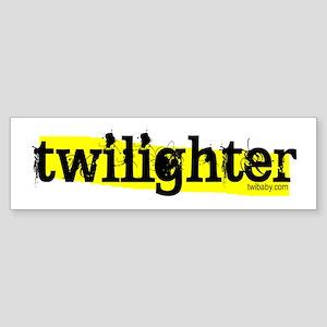 Twilighter Hot Yellow by twibaby Sticker (Bumper)