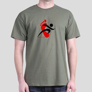 runbarefoot 2 Dark T-Shirt