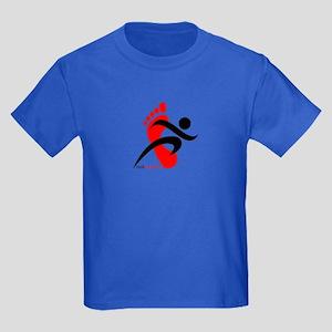 runbarefoot 2 Kids Dark T-Shirt