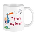 Baby Finds Home Mug