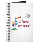 Baby Finds Home Journal
