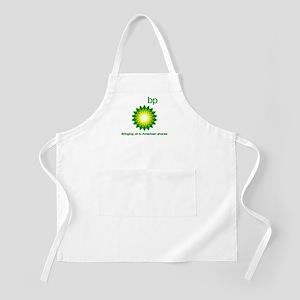 BP, Bringing Oil... Apron