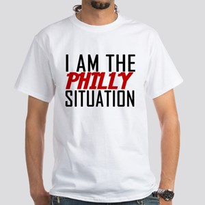 I AM THE PHILLY SITUATION White T-Shirt