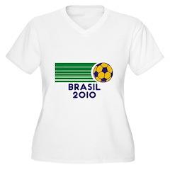 Brasil Soccer 2010 T-Shirt
