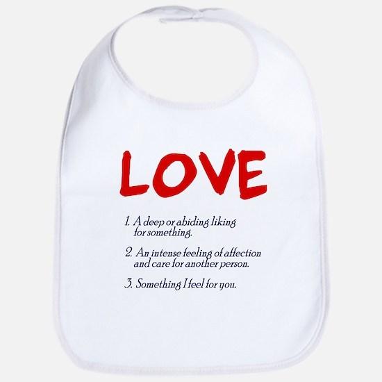 love defined Bib