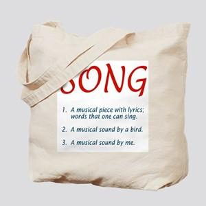 song defined Tote Bag
