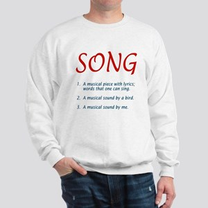 song defined Sweatshirt