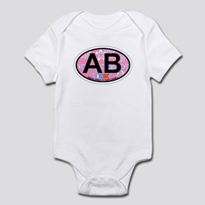 Atlantic Beach NC - Oval Design Infant Bodysuit