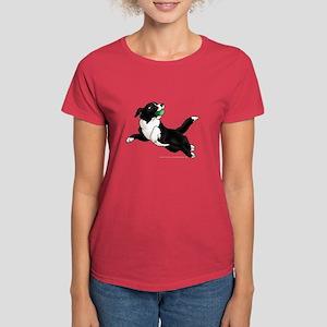 Border Collie Pup Women's Dark T-Shirt