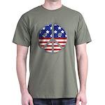 Unhappy Peace - Inspired by Radiohead Dark T-Shirt