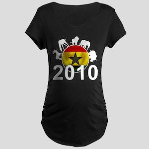 Ghana World Cup 2010 Maternity Dark T-Shirt