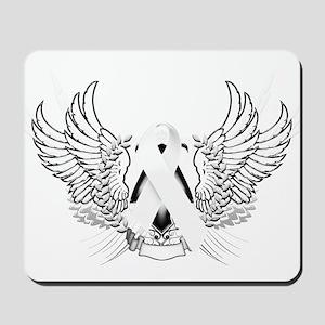 Awareness Tribal White Mousepad