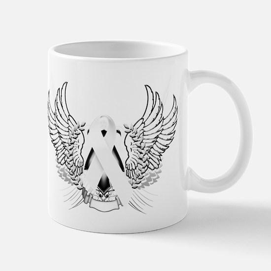 Awareness Tribal White Mug