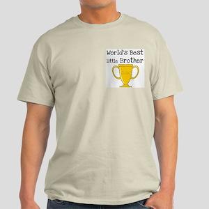 World's Best Little Brother Light T-Shirt