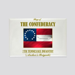 7th Tennessee Infantry Rectangle Magnet