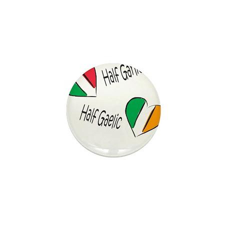 Half Garlic/Half Gaelic Mini Button (10 pack)