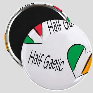Half Garlic/Half Gaelic Magnet
