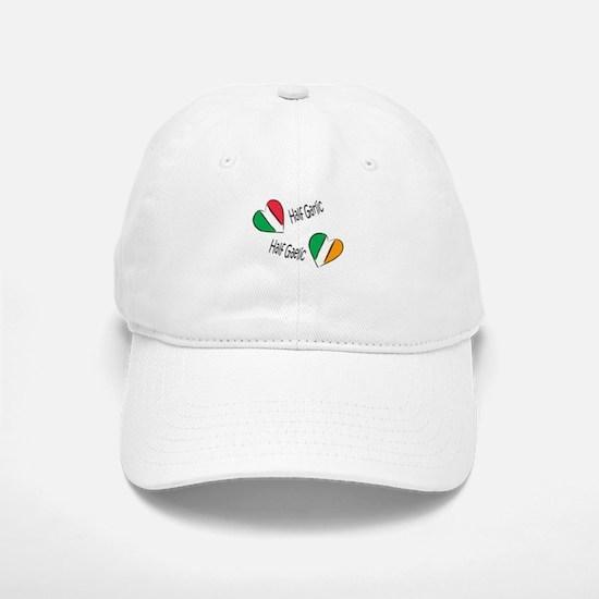 Half Garlic/Half Gaelic Baseball Baseball Cap