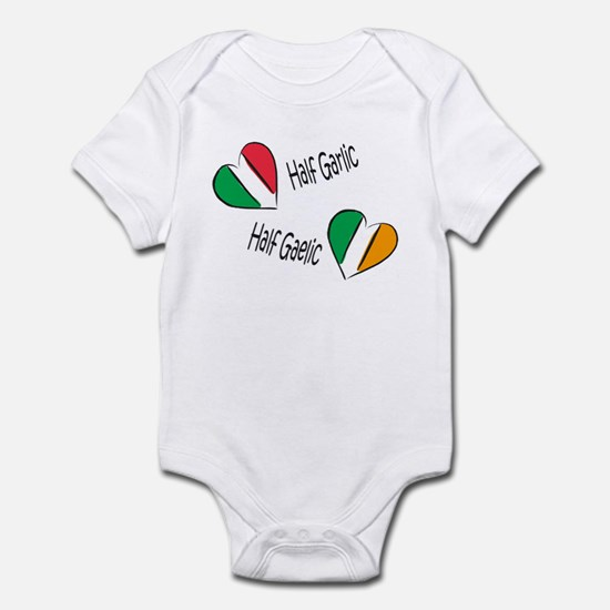 Half Garlic/Half Gaelic Infant Bodysuit
