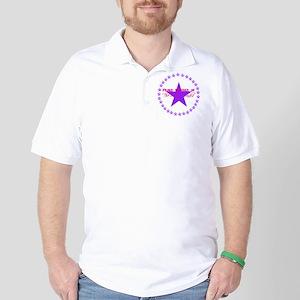 Purple Golf Shirt