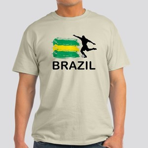 Brazil Football Light T-Shirt