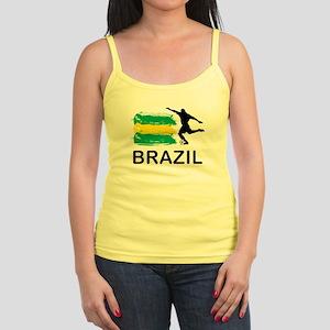Brazil Football Jr. Spaghetti Tank