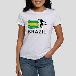 Brazil Football Women's T-Shirt