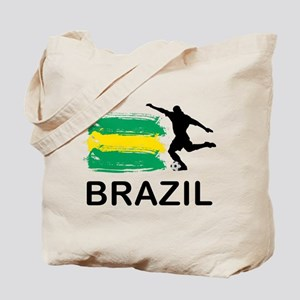 Brazil Football Tote Bag