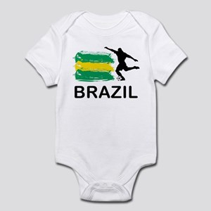 Brazil Football Infant Bodysuit