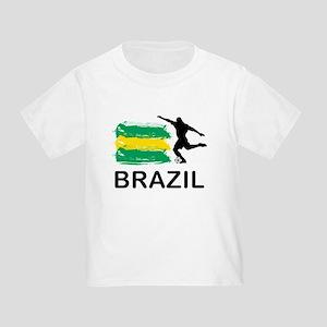 Brazil Football Toddler T-Shirt