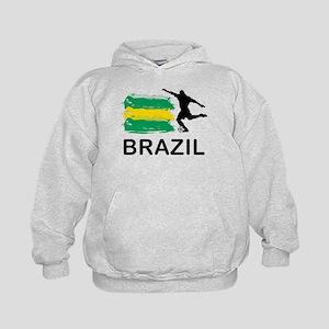 Brazil Football Kids Hoodie