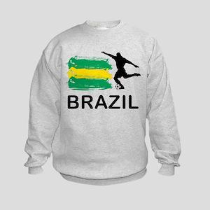 Brazil Football Kids Sweatshirt