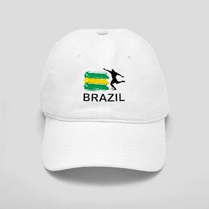 Brazil Football Cap