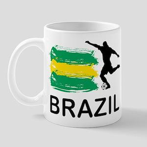 Brazil Football Mug