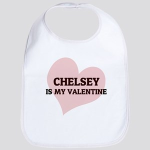 Chelsey Is My Valentine Bib