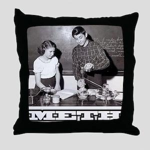 Meth Throw Pillow