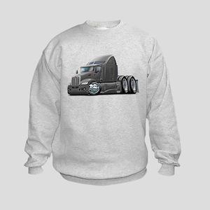 Kenworth 660 Grey Truck Kids Sweatshirt