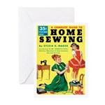 """Greeting (10)-""""Home Sewing"""""""