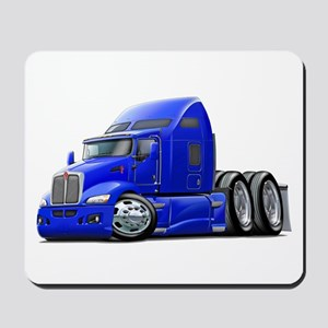 Kenworth 660 Blue Truck Mousepad