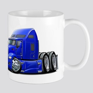Kenworth 660 Blue Truck Mug