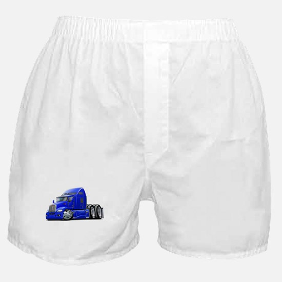 Kenworth 660 Blue Truck Boxer Shorts