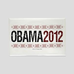 Obama 2012 Rectangle Magnet