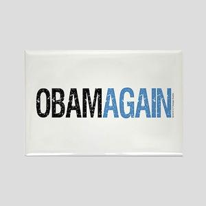 ObamAgain Rectangle Magnet